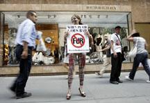 przeciw firmie Burberry