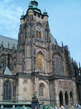 fasada katedry Św. Wita