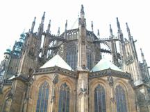 przypory katedry Św. Wita