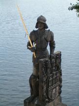 rzeźba rycerza
