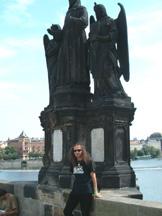 święci na moście Karola