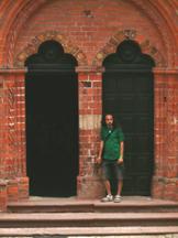 przy drzwiach kościoła św. Jakuba