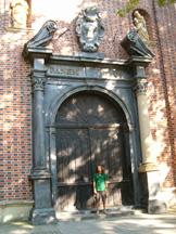 wejście do katedry